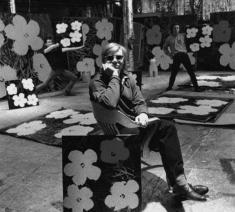 Andy Warhol and assistants in The Factory, ca.1970