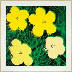 Andy Warhol, Flowers 72, 1970