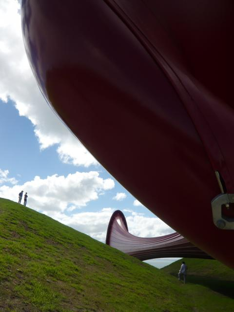 Anish Kapoor, Dismemberment Site I, 2009, Gibbs Farm, photo by Rob Garrett