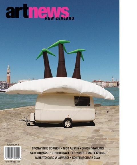 Art News New Zealand cover, Autumn 2014