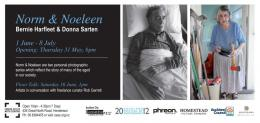 Bernie Harfleet and Donna Sarten, 'Norm & Noeleen' CEAC exhibition flier