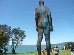 Christian Nicolson, NZ Sculpture OnShore exhibition 2010, photo by Rob Garrett