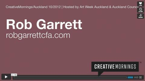 CreativeMornings AKL title screen