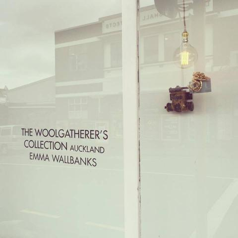 Emma Wallbanks, The Woolgatherer's Collection_Auckland 2016, Corner; photo by the artist