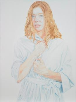 Estella Castle, Untitled (A Sense of the Vapid, Rachel) 2009, oil & gesso on linen, 1300 x 950mm; courtesy of the artist and Rob Garrett