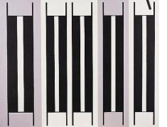 Gordon Walters, Untitled (Piano Keys), nd