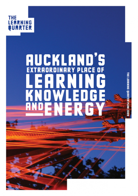 Learning Quarter Plan (2009), Auckland Council (cover)