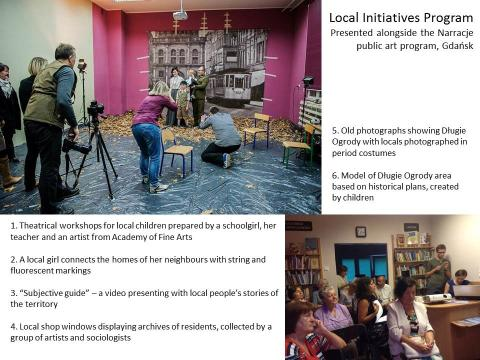 Local Initiatives projects within the Narracje 5 program, Gdansk 2013