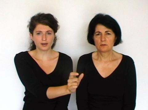 "Meggy Rustamova, ""M.A.M. (My Assyrian Mother)"" 2009, Brussels; single-channel video, DVD Pal, 4:3 ratio, 4:9 minutes looped (video still); image courtesy of the artist"