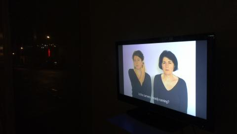"Meggy Rustamova, ""M.A.M. (My Assyrian Mother)"" 2009, Brussels; single-channel video, DVD Pal, 4:3 ratio, 4:9 minutes; photo by Rob Garrett"