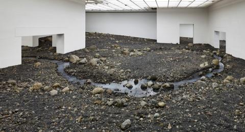 Olafur Eliasson, Riverbed 2014, Louisiana MoMA, Denmark