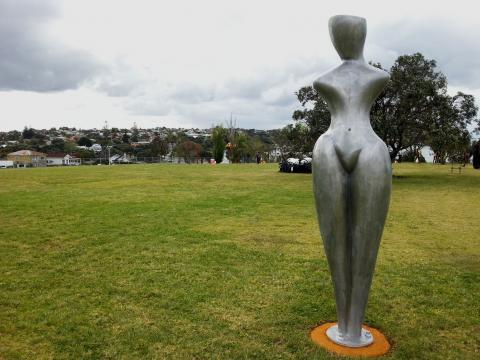 Paul Beaurepaire, NZ Sculpture OnShore 2012; photo by Rob Garrett