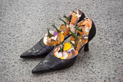 Peter Madden, Mother's Shoes, 2007, image courtesy of the artist and Michael Lett, Auckland