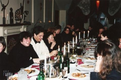 Richard Crow residency, Ravens Feast hosted by Wayne Everson & Artists at Work, Dunedin, 23 July 1999