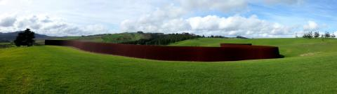 Richard Serra, Te Tuhirangi Contour 1999-2001, Gibbs Farm; photo by Rob Garrett