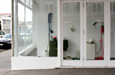 Sena Park, Fragments (2), Corner Window Gallery, Auckland, 2018; image courtesy of the artist