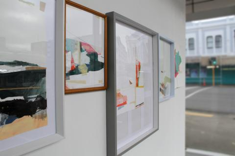 Sena Park, Fragments (3), Corner Window Gallery, Auckland, 2018; image courtesy of the artist