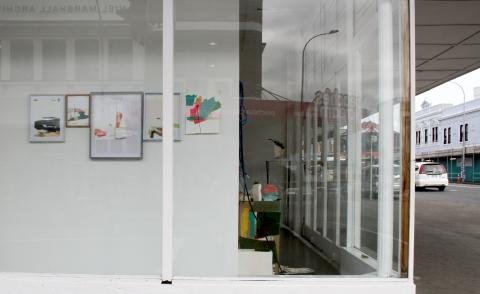 Sena Park, Fragments (7), Corner Window Gallery, Auckland, 2018; image courtesy of the artist
