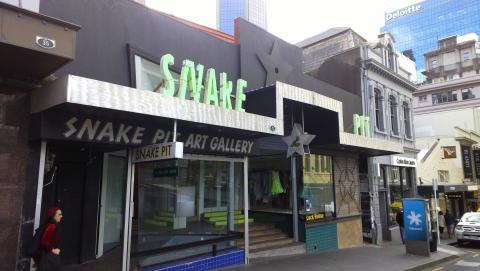 Snake Pit, 33 High Street, Auckland; photo by Rob Garrett