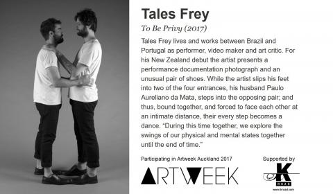 Tales Frey, Artweek Auckland 2017 promo montage