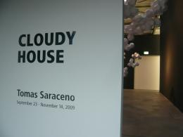 Tomás Saraceno, 'Cloudy House' 2009, Andersen's Contemporary (Berlin), photo by Rob Garrett