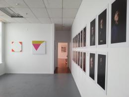 Works by Robbie Fraser, Andre Sampson and Alexander Ilin; photo by Rob Garrett